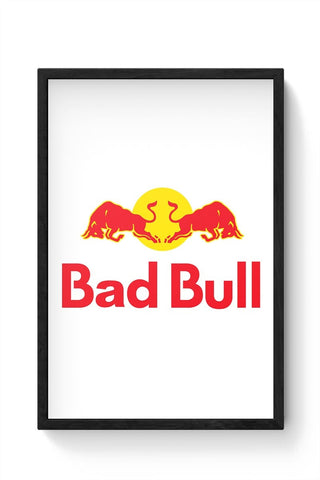 Bad Bull Framed Poster Online India