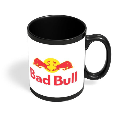 Bad Bull Black Coffee Mug Online India