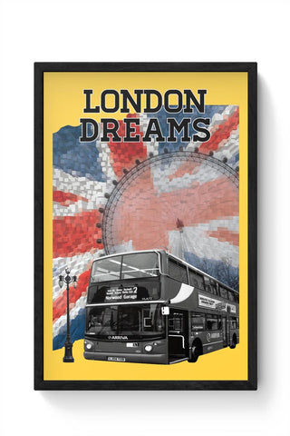 London Dreams Framed Poster Online India