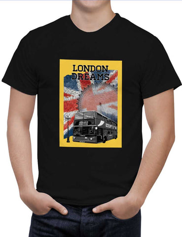 Buy London Dreams Woman T-Shirts Online India | London Dreams T-Shirt | PosterGuy.in