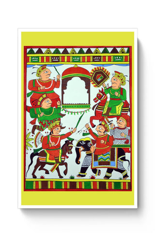 Phad Painting Poster Online India