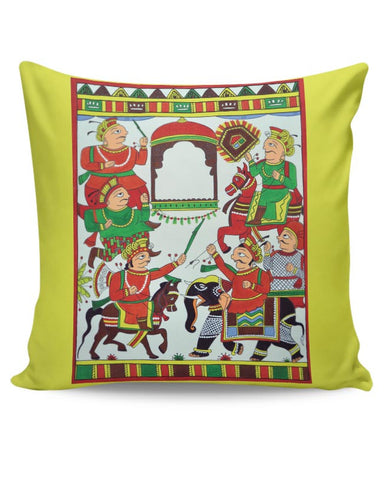 Phad Painting Cushion Cover Online India