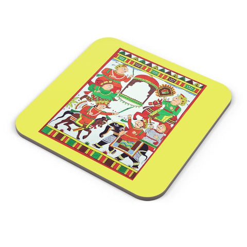 Phad Painting Coaster Online India