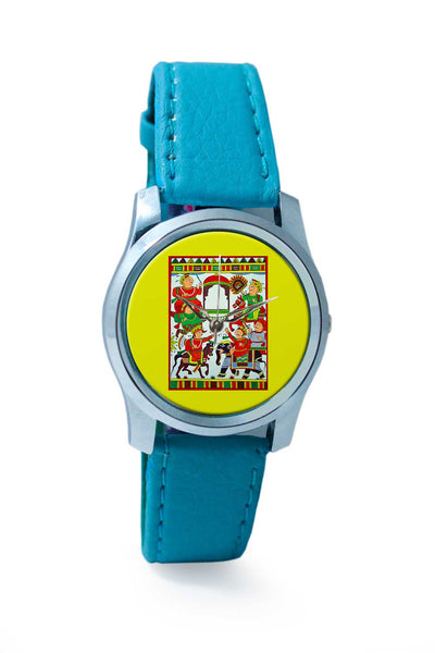 Women Wrist Watch India | Phad Painting Wrist Watch Online India