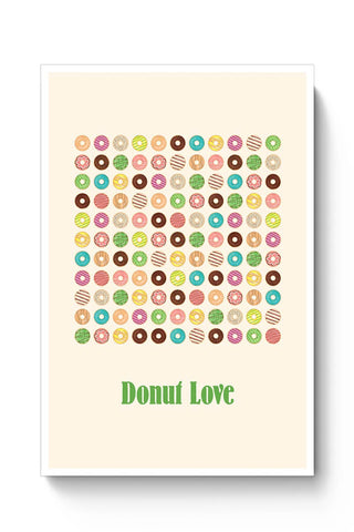 donut, donuts, food, sweets, donut love, donut pattern Poster Online India