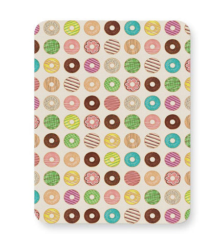 donut, donuts, food, sweets, donut love, donut pattern Mousepad Online India