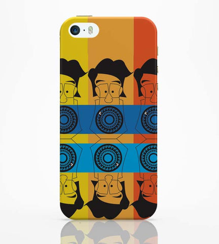 iPhone 5 / 5S Cases & Covers | Mr. Lobo's Tooth iPhone 5 / 5S Case Online India