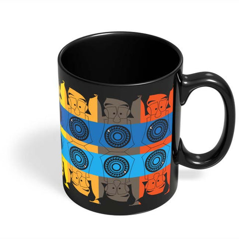 Coffee Mugs Online | Mr. Lobo's Tooth Black Coffee Mug Online India