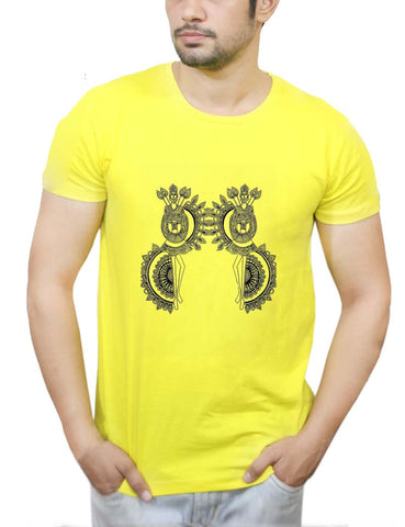 Buy Dokra Art T-Shirts Online India | Dokra Art T-Shirt | PosterGuy.in