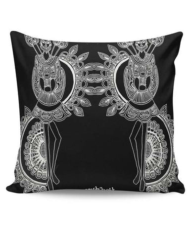PosterGuy | Dokra Art Cushion Cover Online India
