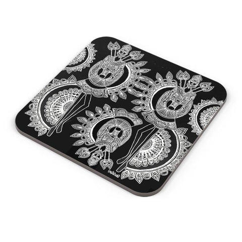 Buy Coasters Online | Dokra Art Coasters Online India | PosterGuy.in