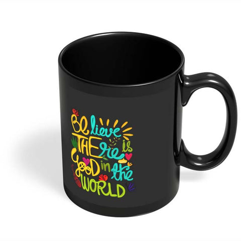 Coffee Mugs Online | Be The Good! Black Coffee Mug Online India