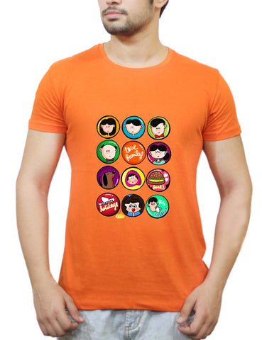 Buy Family Badge T-Shirts Online India | Family Badge T-Shirt | PosterGuy.in
