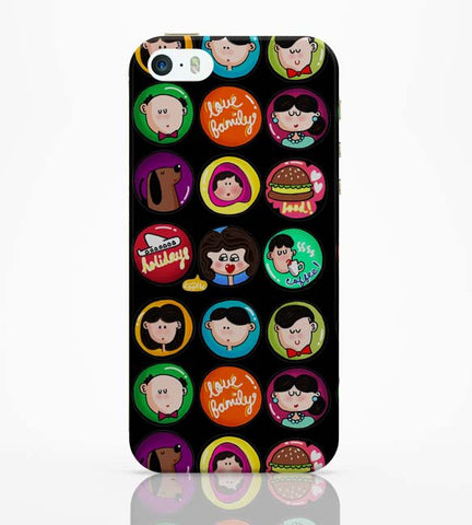 iPhone 5 / 5S Cases & Covers | Family Badge iPhone 5 / 5S Case Online India