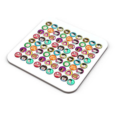 Buy Coasters Online | Family Badge Coaster Online India | PosterGuy.in
