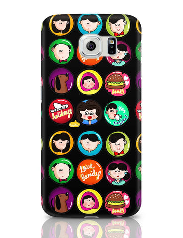 Samsung Galaxy S6 Covers | Family Badge Samsung Galaxy S6 Case Covers Online India