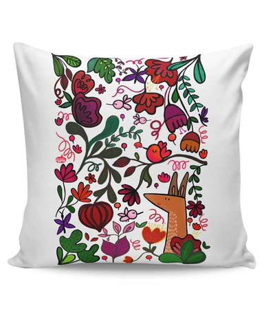 PosterGuy | Floral Cushion Cover Online India