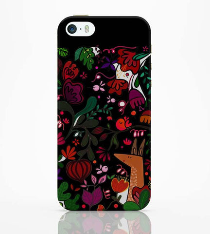 iPhone 5 / 5S Cases & Covers | Floral iPhone 5 / 5S Case Online India