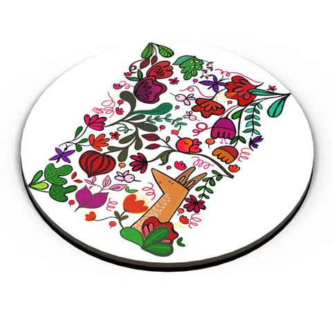 PosterGuy | Floral Fridge Magnet Online India by DoodleWoodle