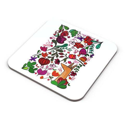 Buy Coasters Online | Floral Coaster Online India | PosterGuy.in