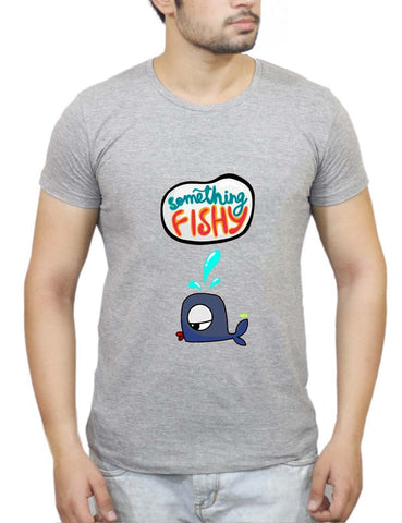 Buy Something Fishy? T-Shirts Online India | Something Fishy? T-Shirt | PosterGuy.in