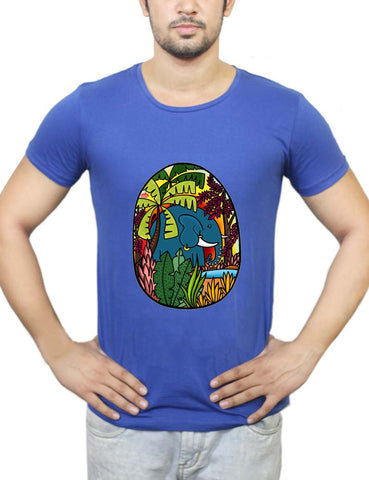 Buy The Early Morning Elephant! T-Shirts Online India | The Early Morning Elephant! T-Shirt | PosterGuy.in