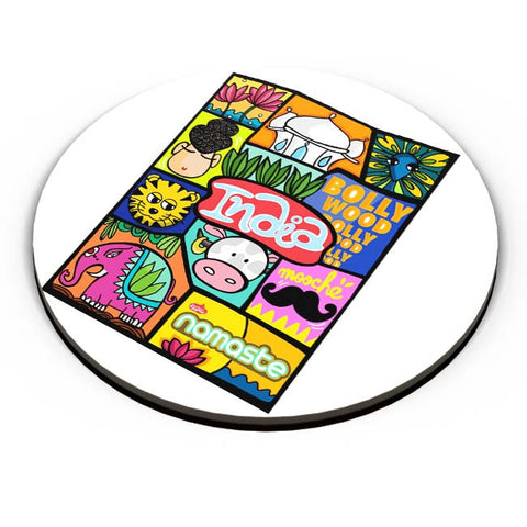 PosterGuy | Namaste India Fridge Magnet Online India by DoodleWoodle
