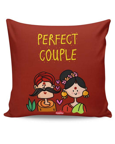 PosterGuy | Perfect Desi Couple! Cushion Cover Online India