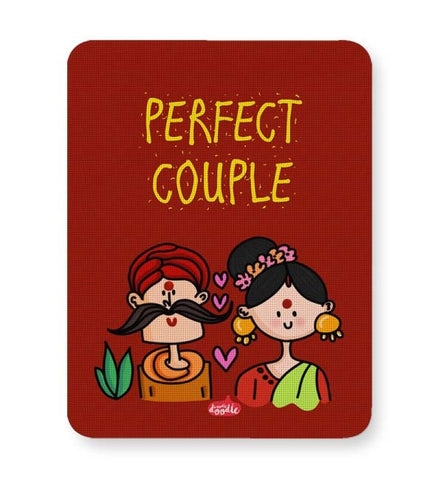 Buy Mousepads Online India | Perfect Desi Couple! Mouse Pad Online India
