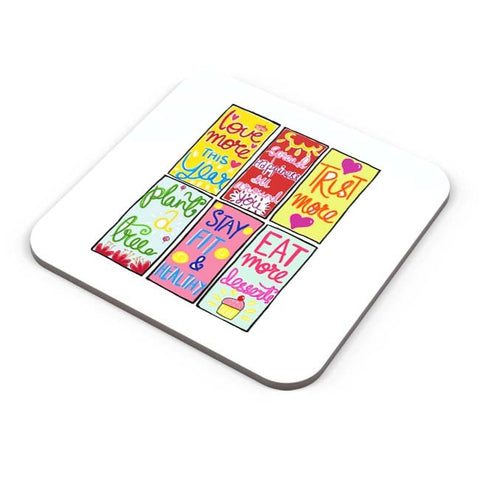 Buy Coasters Online | To Do List Coaster Online India | PosterGuy.in