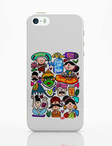 iPhone 5 / 5S Cases & Covers | Faces Of India iPhone 5 / 5S Case Online India