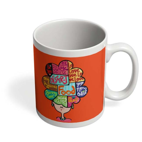 Coffee Mugs Online | What's In My Mind? Mug Online India