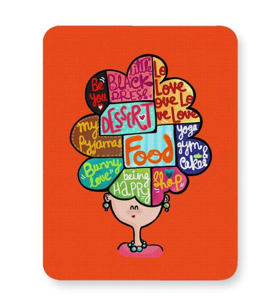 Buy Mousepads Online India | What's In My Mind? Mouse Pad Online India