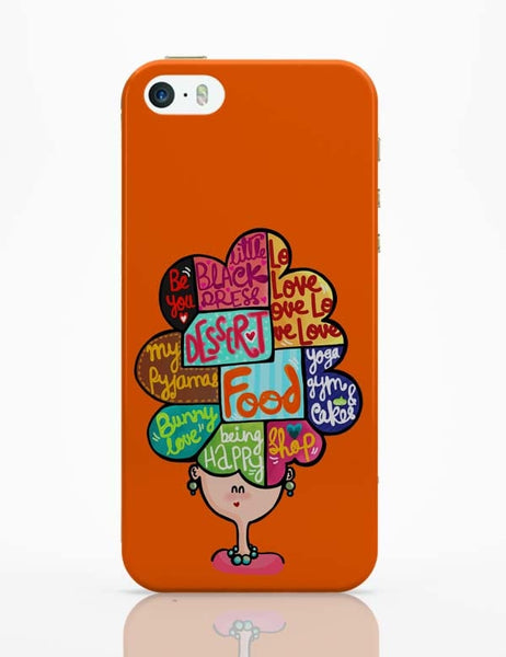 iPhone 5 / 5S Cases & Covers | What's In My Mind? iPhone 5 / 5S Case Online India