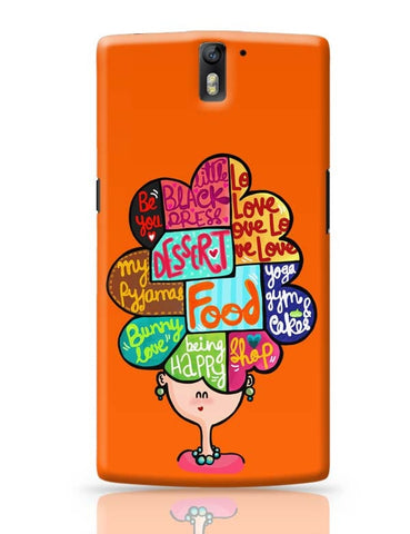 OnePlus One Covers | What's In My Mind? OnePlus One Case Cover Online India