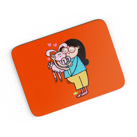 Bunny Love A4 Mousepad Online India
