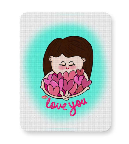 Buy Mousepads Online India | Love You Mouse Pad Online India