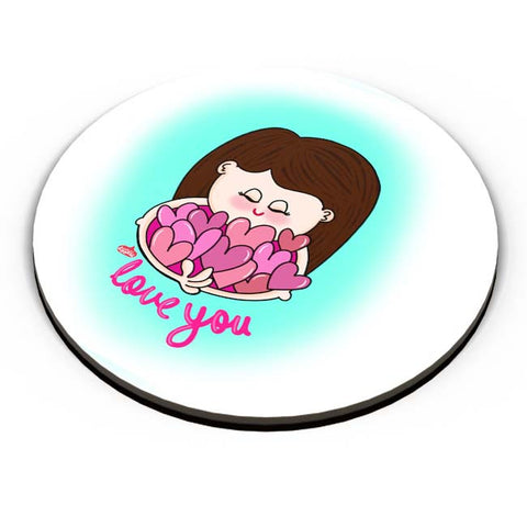 PosterGuy | Love You Fridge Magnet Online India by Woodle Doodle