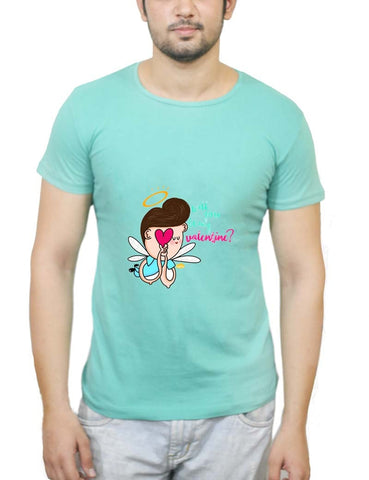 Buy Will You Be  My Valentine? T-Shirts Online India | Will You Be  My Valentine? T-Shirt | PosterGuy.in
