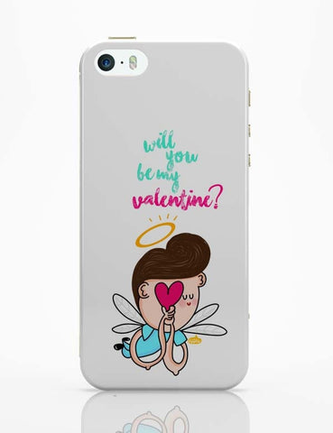 iPhone 5 / 5S Cases & Covers | Will You Be My Valentine? iPhone 5 / 5S Case Online India