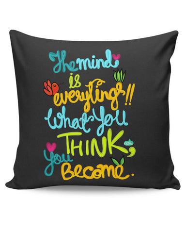 PosterGuy | Mind Is Everything! Cushion Cover Online India