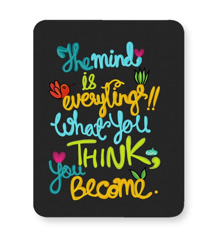 Buy Mousepads Online India | Mind Is Everything! Mouse Pad Online India