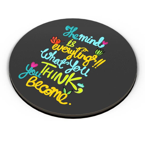 PosterGuy | Mind Is Everything! Fridge Magnet Online India by Woodle Doodle