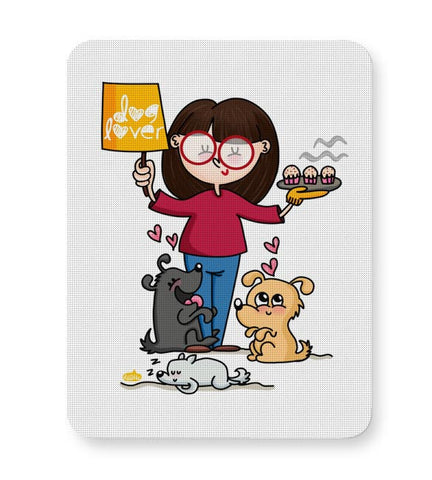 Buy Mousepads Online India | Dog Lover Mouse Pad Online India