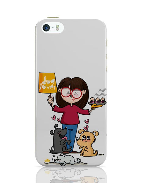 new concept 82340 23962 Dog Lover iPhone 5 / 5S Case Cover