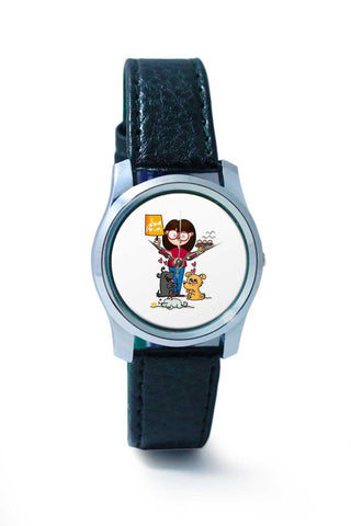 Women Wrist Watch India | Dog Lover Wrist Watch Online India