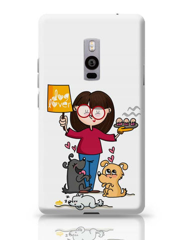 OnePlus Two Covers | Dog Lover OnePlus Two Case Cover Online India