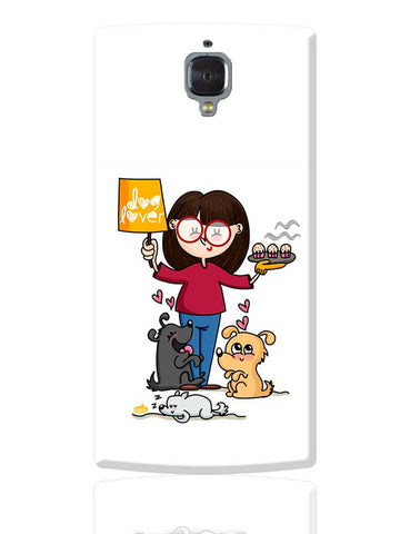 Dog Lover OnePlus 3 Cover Online India