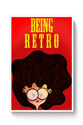 Posters Online | Retro Poster Online India | Designed by: Woodle Doodle