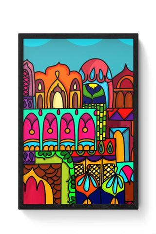 Framed Posters Online India | Windows Of India Framed Poster Online India